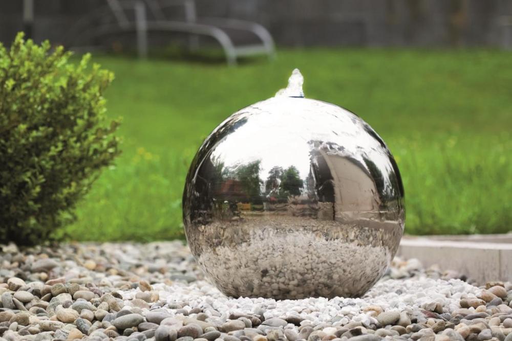 Edelstahl-Gartenbrunnen Atlantic