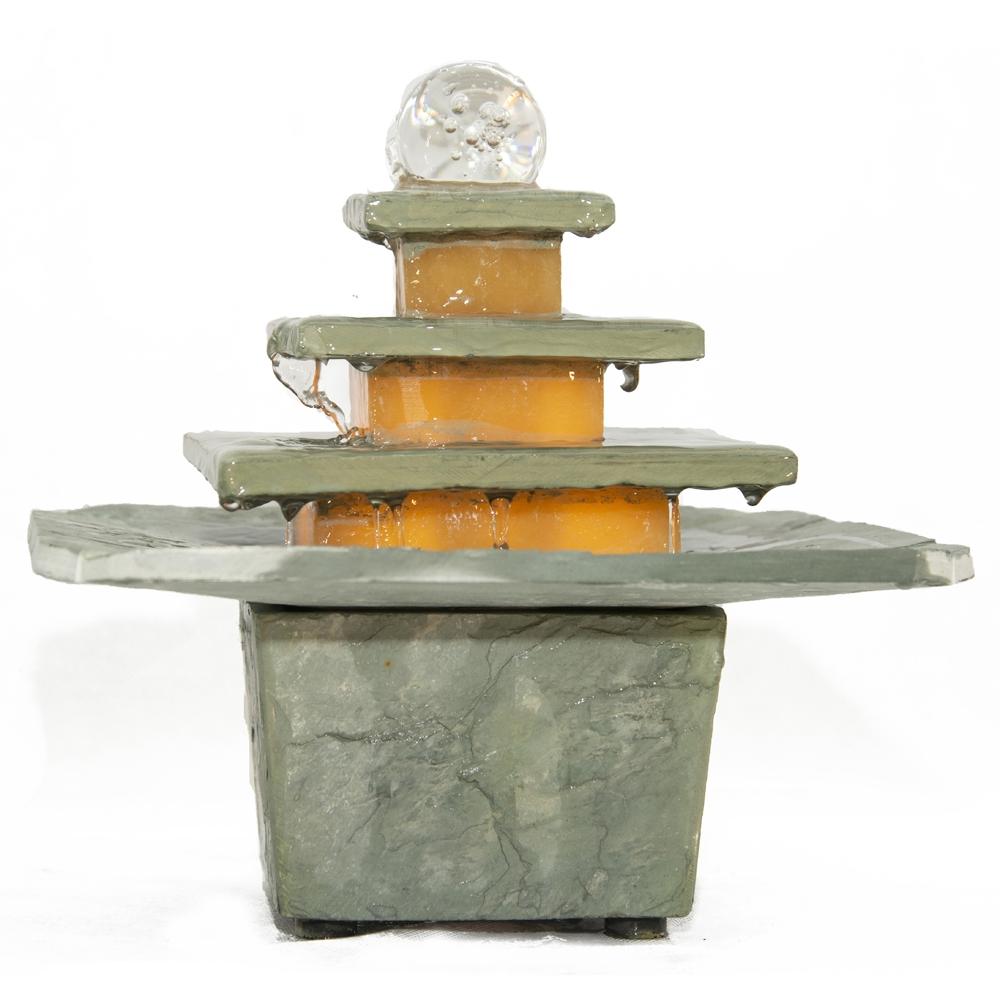 Schieferbrunnen Mandala