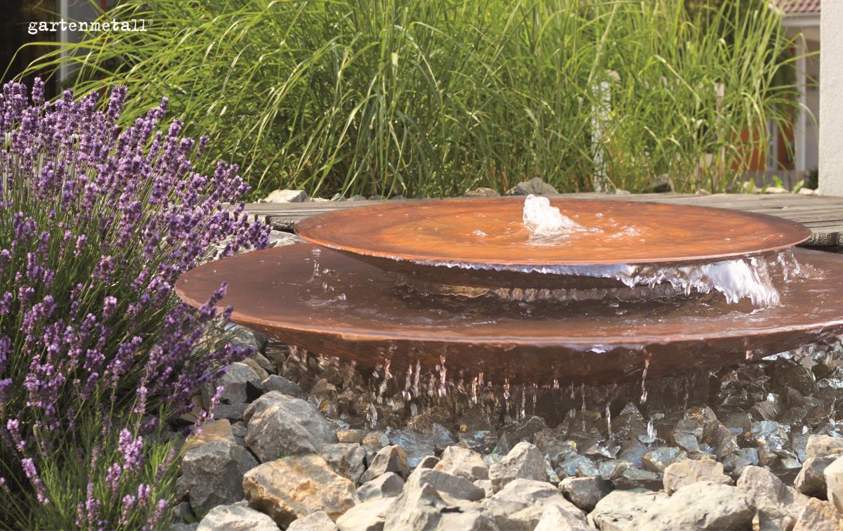 Wasserschale Aus Cortenstahl Für Den Garten Online Bestellen