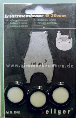 Nebler Ersatzmembrane Ø 16 mm 3er Set