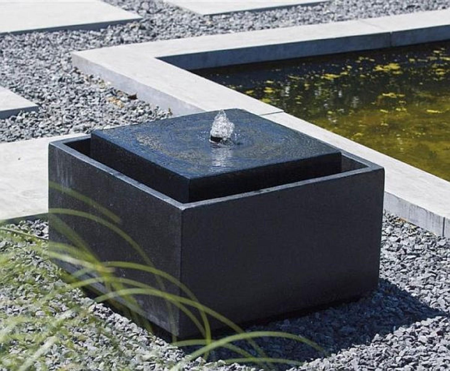 Wasserspiel Sonora f u00fcr Terrasse oder Garten